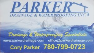 Parker Drainage &Waterproofing Inc.
